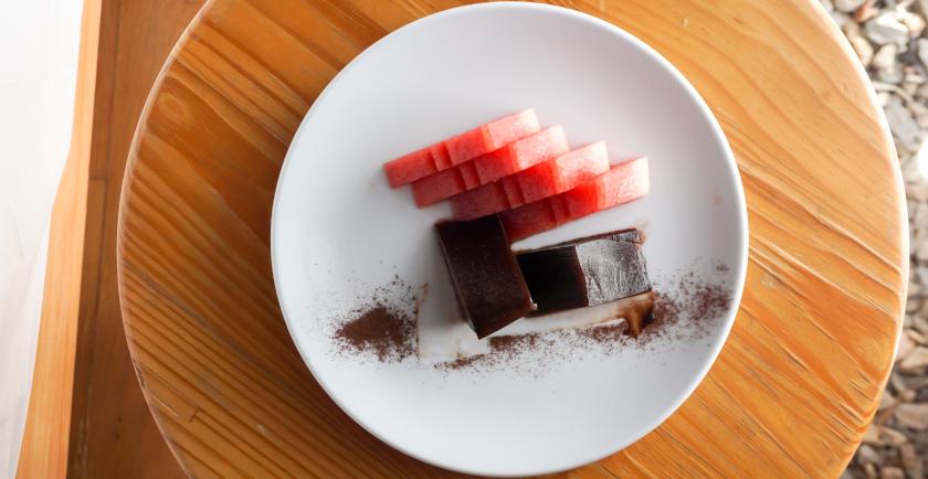 ricette insolite col cioccolato gelo di melone
